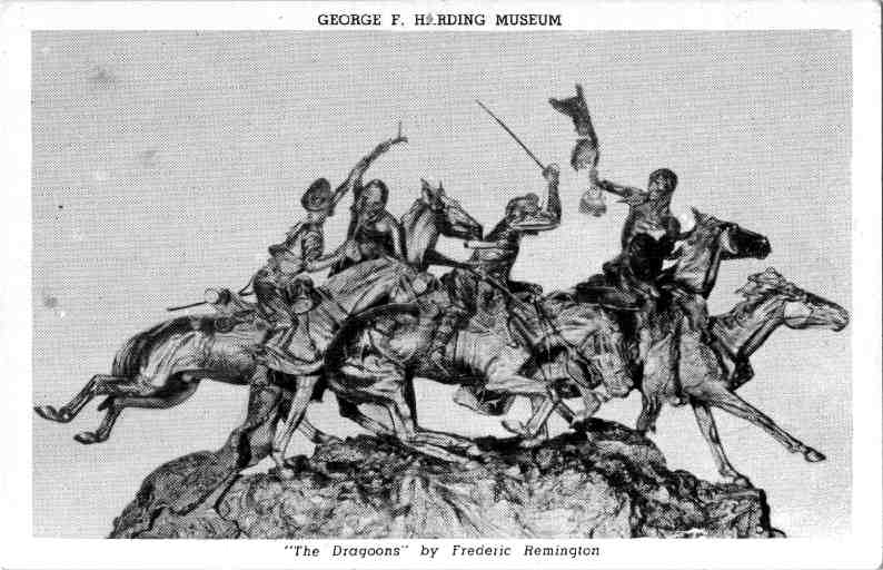 «The Dragoons» by Frederic Remington
